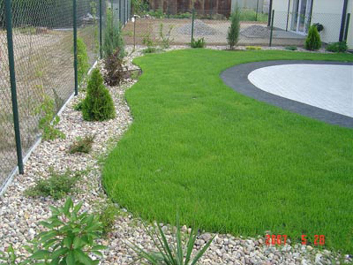 Idealne obrzeże do trawników