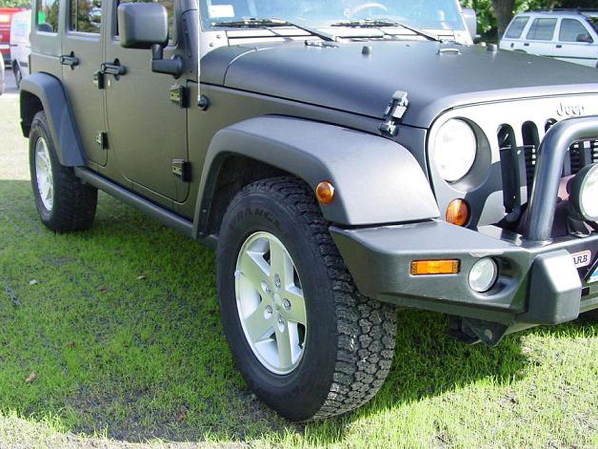 Parking dla Jeepa na zazielenionym EcoRaster